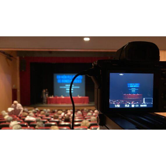 Emissió en directe de l'Aula d'Extensió Universitària