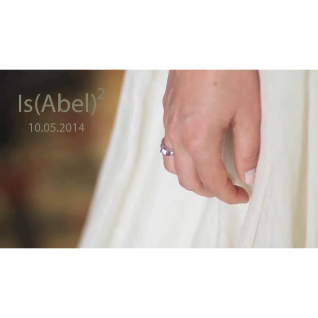 Vídeo del casament de la Isabel i l'Abel