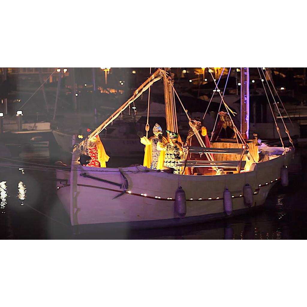 Vídeo arribada dels patges reials a Arenys de Mar