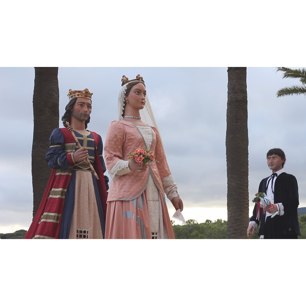 Realització del vídeo del ball dels 60 anys dels gegants d'Arenys de Mar